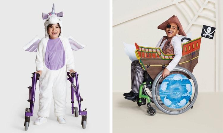 Αλυσίδα καταστημάτων κυκλοφόρησε αποκριάτικες στολές για παιδιά με αναπηρίες!