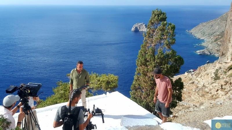 Νίκος Αλιάγας: Γαλλία και Αμοργός ζουν χρόνια μια σχέση δυνατή