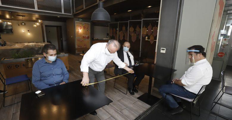 Αυτοψία σε χώρους εστίασης έκαναν ο Υπουργός & ο Υφυπουργός Ανάπτυξης