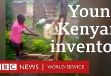9χρονος στην Κένυα έφτιαξε κατασκευή για το πλύσιμο των χεριών και βραβεύτηκε από τον πρόεδρο της χώρας (vid)
