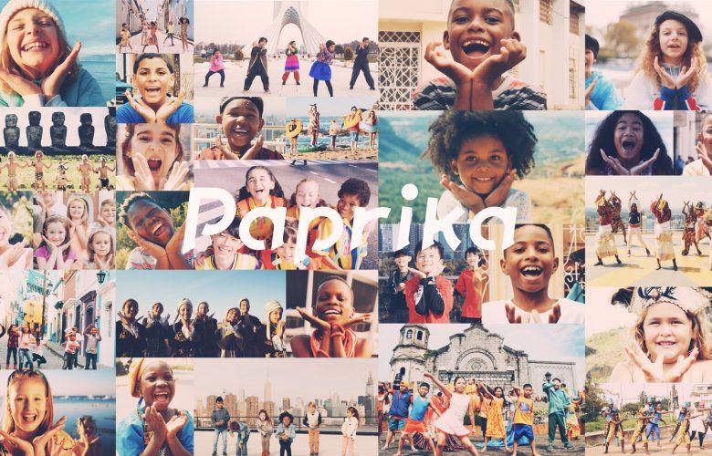 Paprika: Μήνυμα ενότητας κατά της πανδημίας από το παιδικό τραγούδι που συμμετέχουν και ελληνόπουλα(vid)
