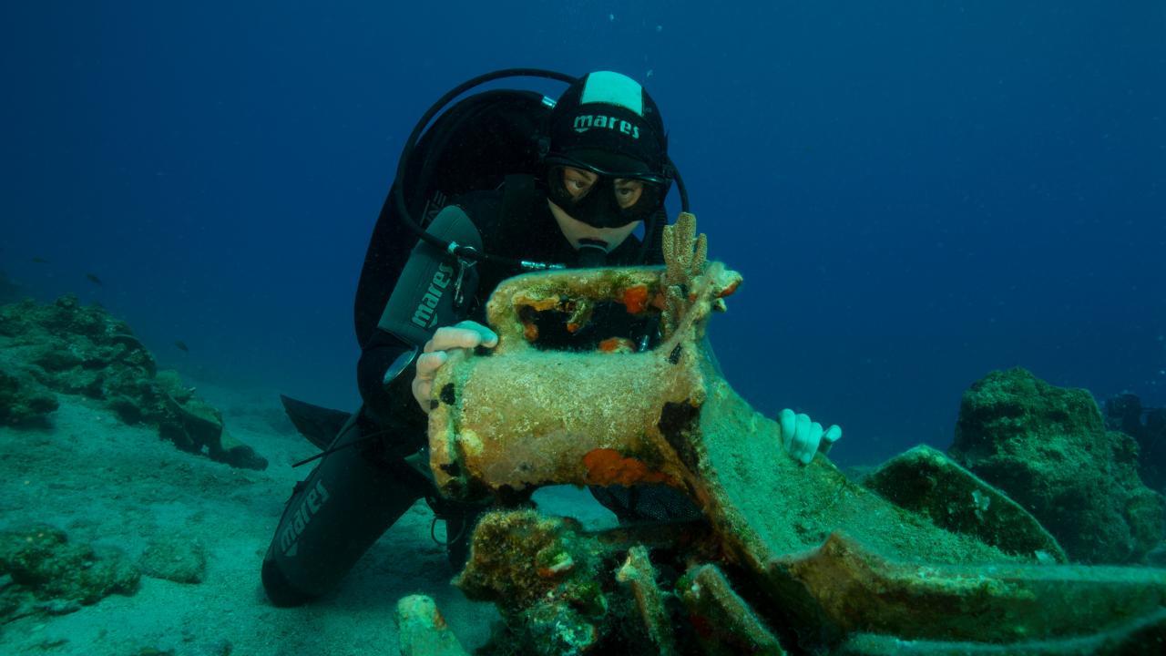 πρώτο υποβρύχιο μουσείο της Ελλάδας στην Αλόννησο
