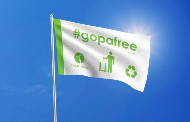 Η Χίος στο δίκτυο #gopafree της CigaretCycle για την ανακύκλωση αποτσίγαρων